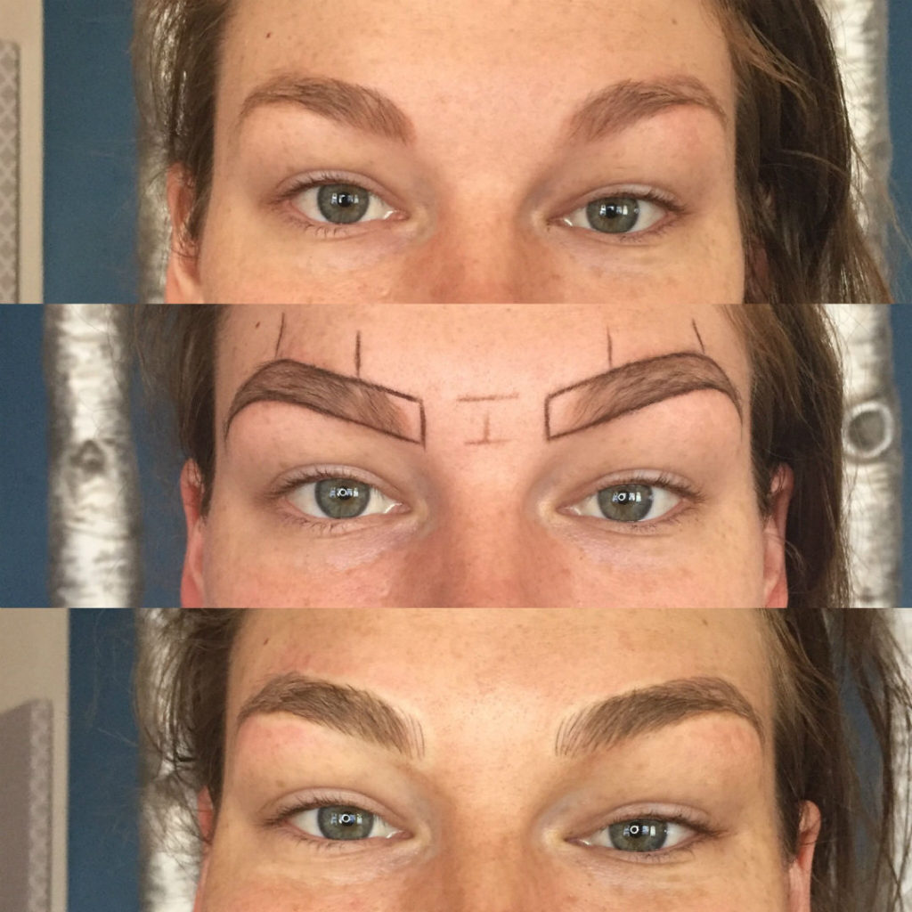 Microblading Permanent Eyebrow Makeup Sugared South