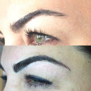 Microblading Permanent Eyebrow Makeup | Sugared - South Lake